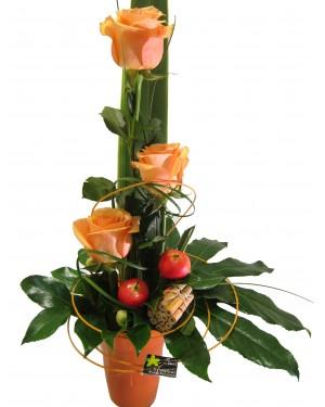 Rosas fescas