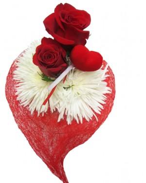 Rosas corazon