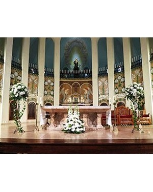 Decoración de Iglesia para bodas